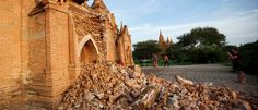 The Burmese authorities raised to 397 pagodas and stupas (religious monuments) damaged in the archaeological complex of Bagan