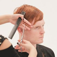 Men's Overdirected Clipper Cut from TONIandGUY - Behindthechair.com Simply Hairstyles, Young Mens Hairstyles, Men's Hairstyles, Latino Haircuts, Haircuts For Men, Hair Cutting Videos, High And Tight Haircut, Mens Hair Clippers, Clipper Cut