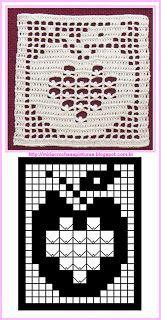 MIRIA CROCHÊS E PINTURAS: SQUARES DE CROCHÊ QUADRADOS Thread Crochet, Crochet Stitches, Crochet Patterns, Crochet Baby Blanket Free Pattern, Crochet Squares, Crochet Fall, Diy Crochet, Crochet Placemats, Crochet Dollies