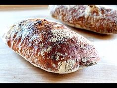 Pan chapata ¡Sin amasar! Paso a paso - YouTube Pan Bread, Dried Fruit, How To Make Bread, Sandwiches, Bakery, Cooking Recipes, Food, Youtube, Croissant