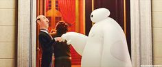 After going to see Big Hero 6 this is how my friends respond whenever someone holds up a fist.