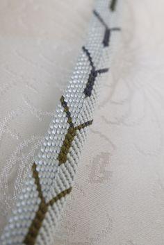 組紐bracelet「 寒露 」 | ハンドメイドマーケット minne Japanese Kimono, Minne, Tie Clip, Accessories, Fashion, Moda, Fashion Styles, Fashion Illustrations, Tie Pin