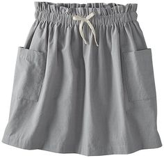 Look what I found on Mast Gray Paper Bag Waist Skirt - Toddler & Girls Toddler Sewing Patterns, Twirl Skirt, Little Fashionista, Clothes For Sale, Girls Shopping, Playing Dress Up, Short Skirts, Waist Skirt, Kids Fashion