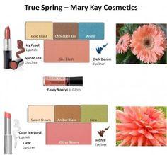Mary Kay True spring makeup