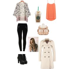 Untitled #12 by veggieranch on Polyvore featuring polyvore, fashion, style, Oasis, Patrizia Pepe and VILA