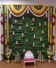 Wedding Stage Decorations, Backdrop Decorations, Flower Decorations, Backdrops, Wedding Stage Design, Wedding Designs, Traditional Wedding Decor, Heart Wall Decor, Wedding Function