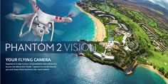The DJI Phantom ready-to-fly quadcopter let amateur pilots capture amazing footage from the sky, but it didn't come with the equipment necessary to actually film that footage, stabilize it, or see. Dji Phantom 2 Vision, Phantom Drone, Gopro, Spy Drone, Aerial Footage, Aerial Drone, Drone Quadcopter, Beautiful, Videos