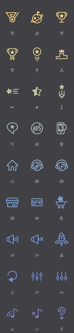 https://www.behance.net/gallery/24952015/Game-Icons