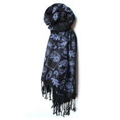 Terrariums Scarf Black now featured on Fab.