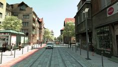 Project by FRAG association, Revitalization of Do Studzienki street, Gdansk 2015