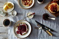 "Sveler (Norwegian Pancakes) Recipe on uses kefir. Very custardy texture. Light and fluffy.""this is like a dulce de leche pillow"" Norwegian Food, Brunch Recipes, Breakfast Recipes, Buy Beer, Scandinavian Food, Food 52, Pancakes, Waffles, Gourmet"