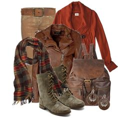 stylesbyjoey on Polyvore. Love the colors, not sure about the boots