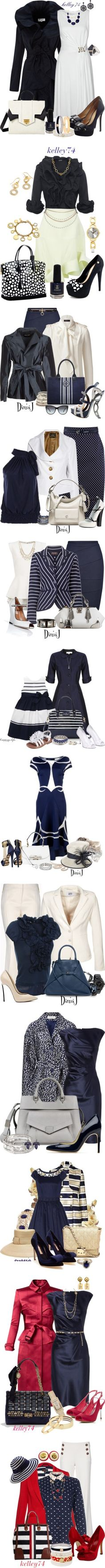 """""""In the Navy"""" by kelley74 ❤ liked on Polyvore"""