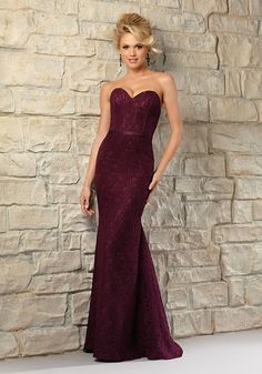 Timeless Lace Morilee Bridesmaid Dress with Corset Bodice