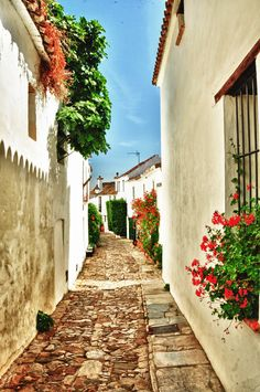 Castellar de la Frontera, Spain (by Cesar Rubio) (All things Europe) Travel Around The World, Around The Worlds, Old Street, Cadiz, Spain And Portugal, Environment Design, Andalucia, Travel Bugs, Beautiful Architecture