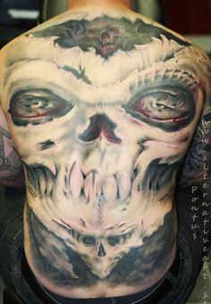 Tattoo Artist - Pontus Jonsson - Monsters tattoo