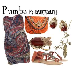 Pumba, created by lalakay on Polyvore