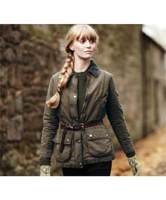 Barbour Beadnell Jacket: Perfect for dog-walking in the Pacific Northwest!