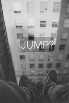 Would you jump. I definitely would. Victorredus