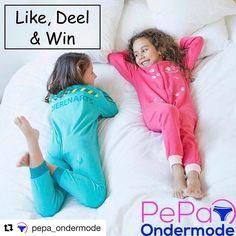 Vergeten jullie onze winactie op  Facebook niet! Nog een week en dan maken we de 3 winnaars bekend.  #pepaondermode #onesie #winnen #dierenarts #roze #mint #spannend