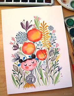 **whimsical** {love the Armenian pomegranates}