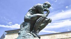 Pics For > The Thinker Rodin Museum
