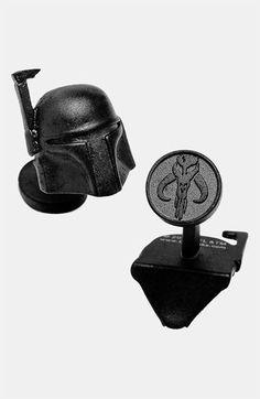 Cufflinks, Inc. 'Star Wars™ - Boba Fett' Cuff Links available at #Nordstrom