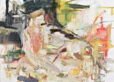 Susanna Vuorio, Klo 6:25 tiskaus, 122 x 171, Oil on hard board/ The winner of 2005