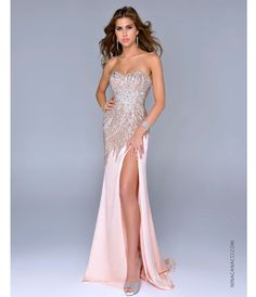 Detailed prom dress