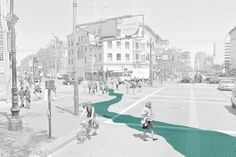 Half-forgotten historical urban rivers are set to resurface in San Francisco as part of a civic installation project designed to fill in their historical footprints with a bright blue work of temporary art. The project will stretch across roads, sidewalks and other urban staples with colorful swaths reflecting part the city's hidden history | Web Urbanist
