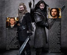 Fili and Kili ♥ Lol! Aidan's is a lot longer then Dean's! I love them both!