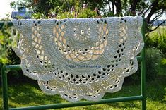 My Giant Crocheted Doily Rug Pattern In Finnish, Matto - Ohje Suomeksi! Crochet Doily Rug, Crochet Carpet, Crochet Motifs, Crochet Home, Crochet Crafts, Crochet Projects, Knit Crochet, Square Patterns, Doily Patterns