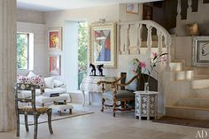 Olivier Mourao's Ibiza Home : Interiors + Inspiration : Architectural Digest