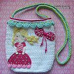 Crochet Princess Purse por VendulkaM