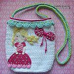 Crochet Princess Purse por VendulkaM