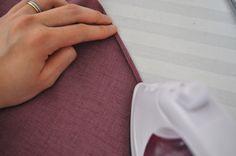 Méthode pour faire un tout petit ourlet sur une jupe cercle