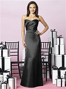 After Six Style 6628 #black #bridesmaid #dress