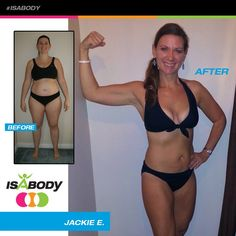 Top 10 New Year Kick Off IsaBody Challenge Honoree Jackie E. Before And After #isagenix