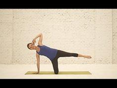Video pilates para practicar en casa, únete a www.aomm.tv. Esta intensa clase completa de pilates PowerHouse, busca como objetivo sentir el cuerpo como un TO...