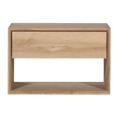 Oak Nordic Night Stand, lekkerhome.com