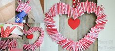 How To Make DIY Paper Heart-Shaped Wreath | How To Instructions