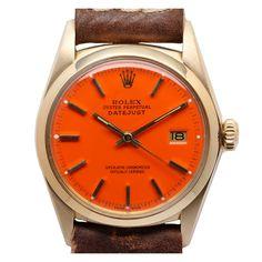ROLEX Yellow Gold Datejust Wristwatch Ref 1603 circa 1968