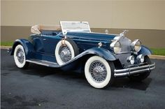 30's Packard Speedster...for the best in car care products, click here: http://johnbellblog.com