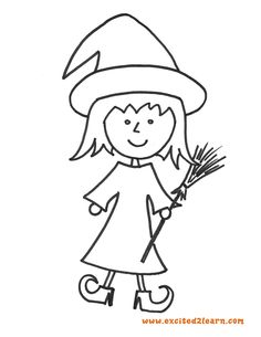 6 Free Halloween Coloring Pages Witch Bat Frankenstein Ghost Pumpkin