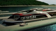 Take a tour of the futuristic luxury yacht the Kraken by Gray Design.