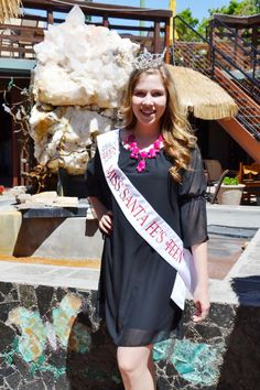 Miss Santa Fe Outstanding Teen 2014 visits Turquoise Butterfly