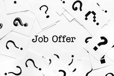Congratulations on the job offer! Here are 7 questions to ask before you accept