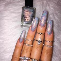 Great Glitter Nail Art Designs 2018