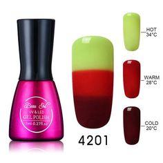 Nail Gel Polish Chameleon - Temperature Color Changing
