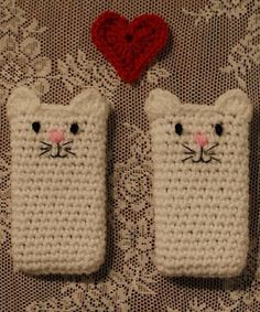 Free cat phonecover pattern
